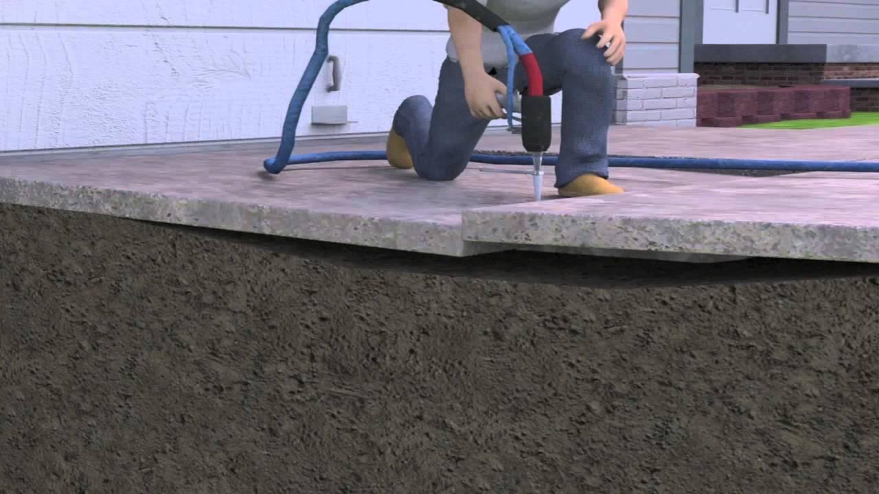 Polyurethane Foam Concrete Lifting