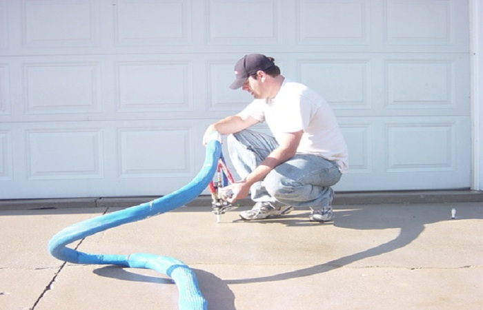 Polyurethane Foam Concrete Lifting1